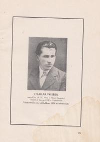 Strýc pamětnice, popraven v červenci roku 1942