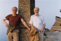 Vladimír Zikmund (napravo) s kamarádem z období skautingu Milošem Zapletalem
