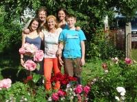 Rodinné foto: dcera Jana (1986), dcera Denisa (1989), syn Jan (2002), manželka Dana (1964), 2015
