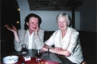 Miroslava Malecká-Svobodová s Ivou Janžurovou, polovina 90. let