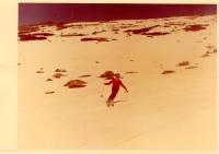 Olga Charvátová závodí ve sjezdu, rok 1972
