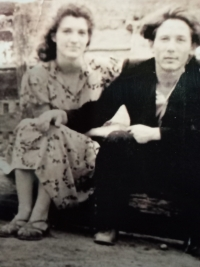 S manželkou, rok 1962