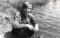 Ludvík Rösch asi v sedmnácti letech