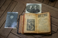 Prayer book, which the Zaverukha family kept at a special settlement in the Tomsk region, 2020