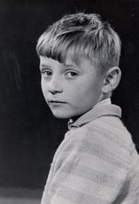 Ludvík Rösch jako malý chlapec