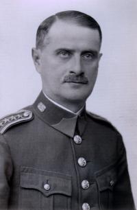 Plukovník Ludvík Rösch, dědeček Ludvíka Rösche