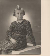 Dětská léta Evy Machkové