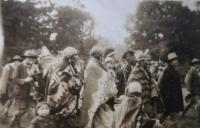 Skautský oddíl, v němž působila Eva Machková
