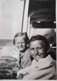 První a poslední dovolená Evy Machkové a její rodiny u moře