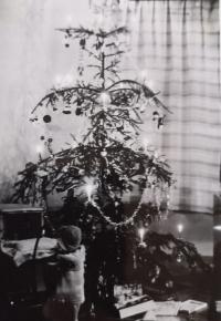 Vánoce 1935 u rodiny Machkových
