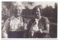 Děda s babičkou Evy Machkové