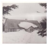 Vzpomínka na zimu - dobová fotografie domu Evy Machkové