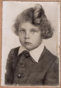 Roman Hamik, older brother, 1940s