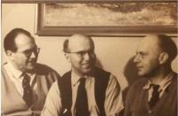 Bratři Běhalovi. Rostislav Běhal a jeho bratři, cca 1958 - 1960