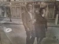 Jefstavij Oleksijovyč Adamčuk s manželkou