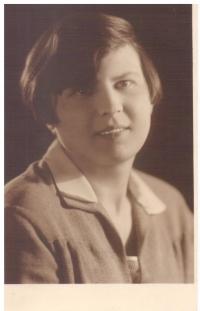 Ludmila Blažková, matka Evy Machkové