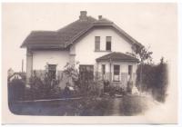 Vila rodiny Evy Machkové v Říčanech