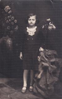 The Krušina family in Volhynia - as a girl