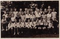 ZŠ Horní Růžodol, Liberec, 1954/55