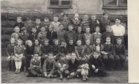 ZŠ Horní Růžodol, Liberec, 1. rok učení, 2. třída, 1952/1953