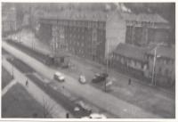 Ulice Na Bídě, Liberec, 60. léta