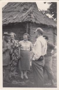 Zájezd do SSSR, sjetí z trasy do neznámé vesnice, 1958