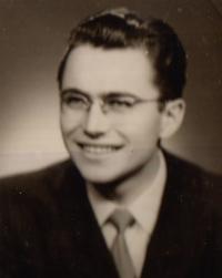 Ivo Čagánek v 50. letech 2