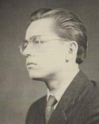 Ivo Čagánek v roce 1952