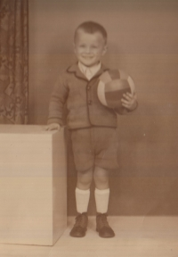Ivo Čagánek ve třech letech 1