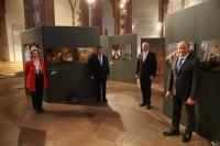 """Otvorenie výstavy """"Zwei Häuser eines Herrn""""- kostoly a synagógy na Slovensku vo Frankfurte v marci 2020"""