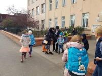 Vnukův první den ve škole