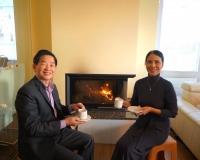 Káva s manželkou