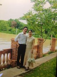 Dovolená s manželkou v roce 2008