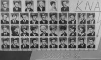 Maturitní tablo Střední průmyslové školy elektrotechnické školy v Brně, Dalibor Matějů je vpravo dole, 1967