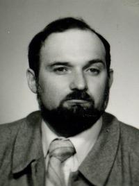 Milan Hulík před rokem 1989, kdy obhajoval disidenty