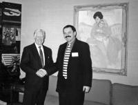 Myroslav Marynovych and Jimmy Carter