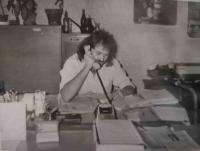 Lumír Aschenbrenner ve Škodovce v roce 1985