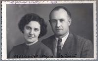 Marta and Artemy Tsehelsky, 1958