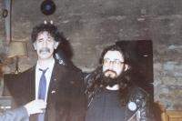 Karel Havelka a Frank Zappa (1990)