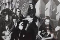 Kapela Půlnoc, Frank Zappa a Karel Havelka v roce 1990