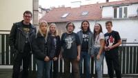 Společná fotka týmu PNS a pamětníkem