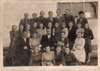 Class of Volodymyr Sereda in the village of Birky (early 1950s)
