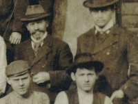 František Volman se synem Jaromírem (1906)