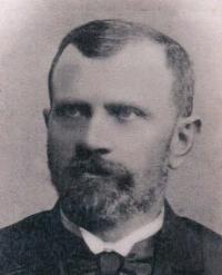 Pradědeček František Volman v r. 1880