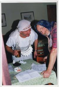 Ladislav Hlavatý jako ochotník, 2000