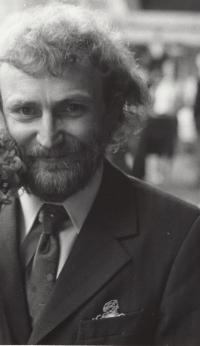 Ladislav Hlavatý coby ženich, Praha, 1976