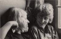 Ladislav Hlavatý s první láskou, 1968
