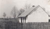 Domek Pánkových ve Vlkově, 60. léta 20. stol.