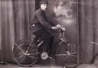 Wolfiho přítel Pavel, Nejdek, 1945