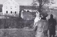 Dům v Rybářích před demolicí, ve kterém bydlel Ital
